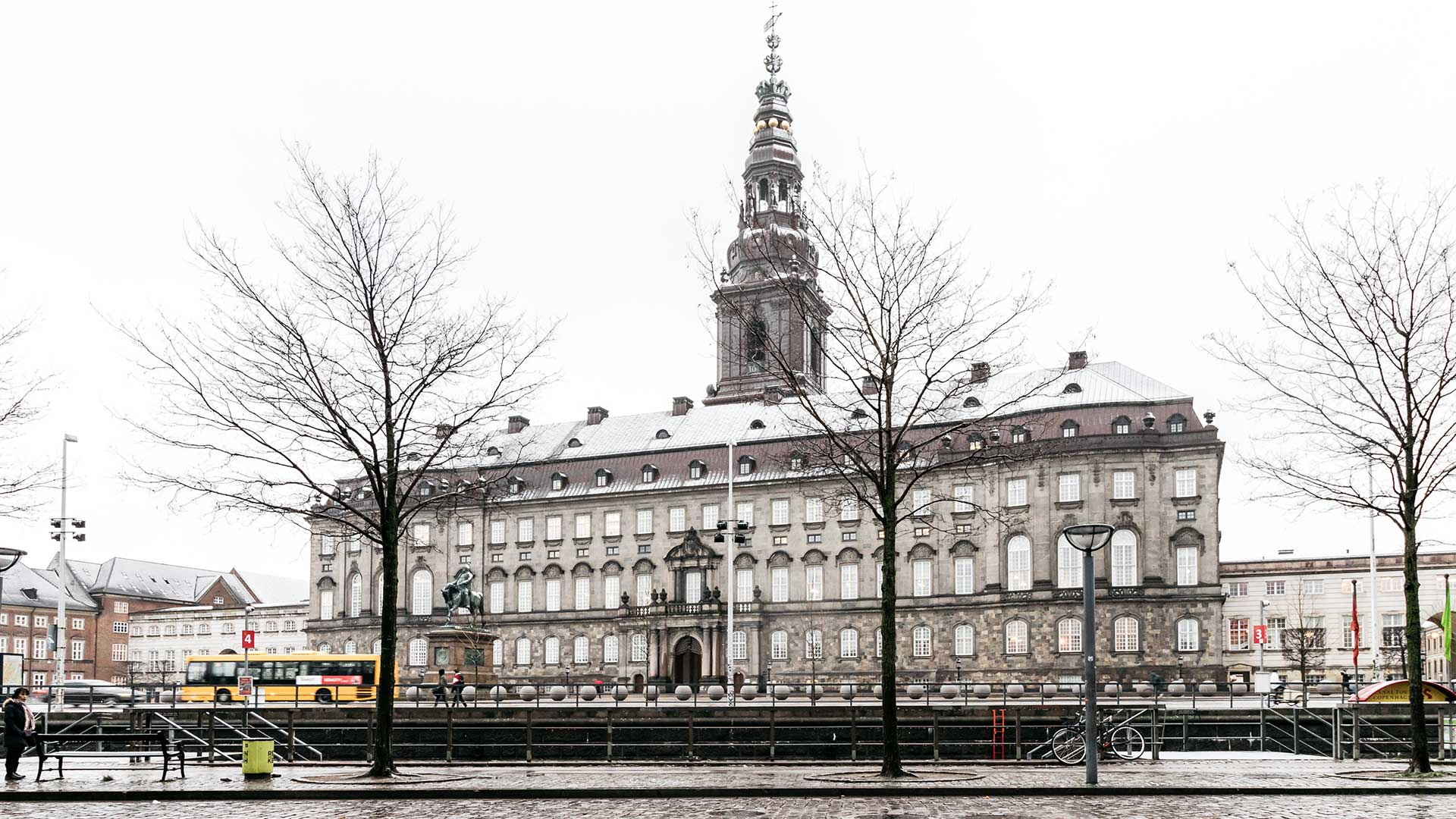 Boldhusgade nieghborhood Christiansborg view